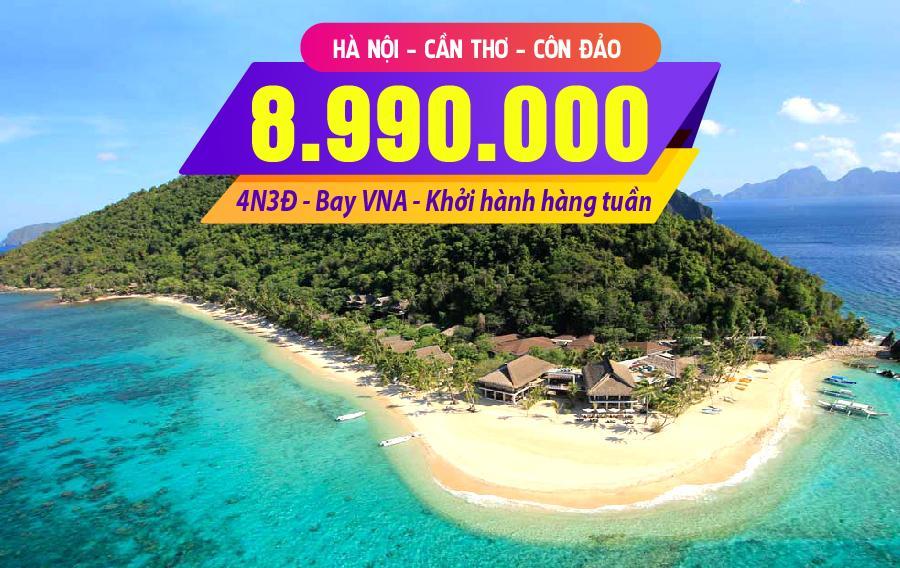 NĐ01. (4N3Đ) Hà Nội | Cần Thơ | Côn Đảo | Hà Nội