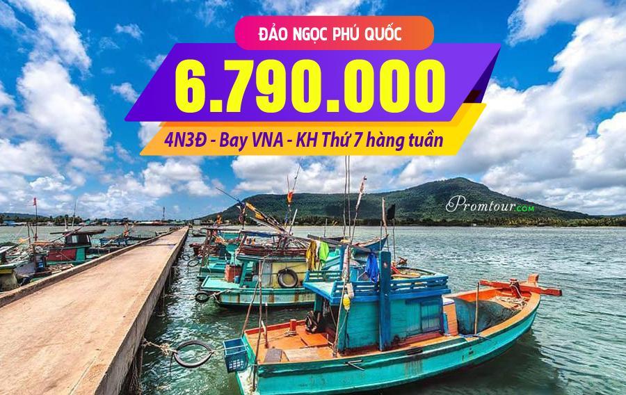 NĐ04. (4N3Đ) Đảo ngọc Phú Quốc