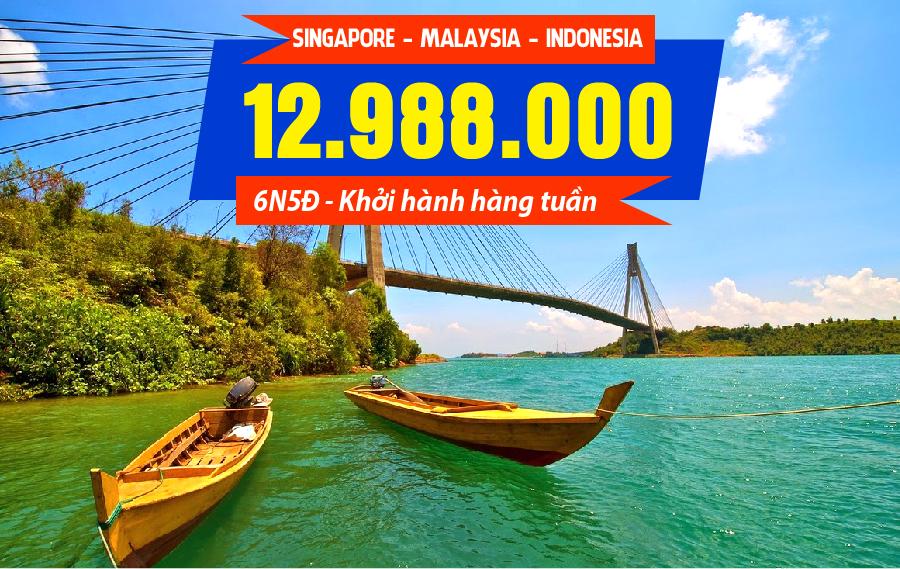 MS10. (6N5Đ) Singapore | Malaysia | Indonesia