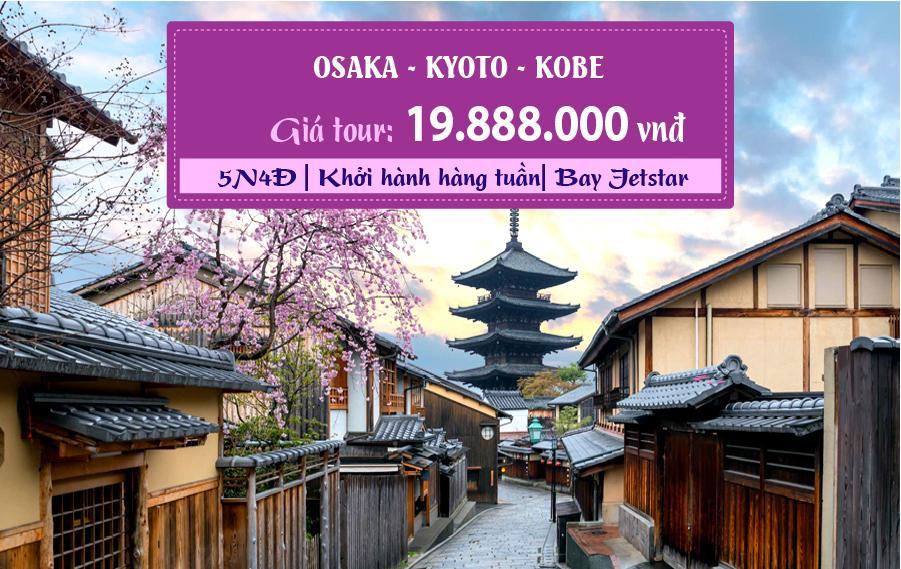 NB09. (5N4Đ) Osaka | Kyoto | Kobe