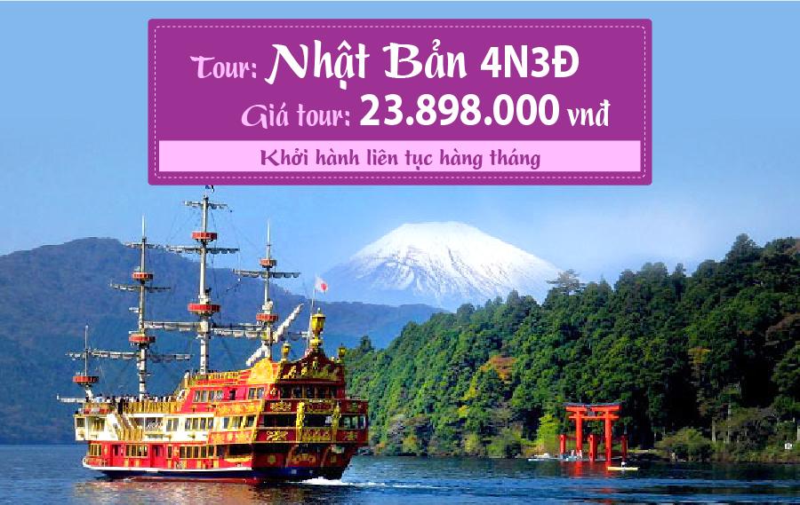 NB13. (4N3Đ) Tokyo | Hakone | Yokohama | Haneda