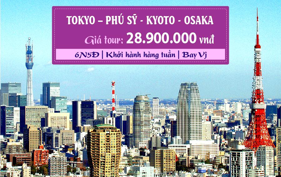 NB19. (6N5Đ) Tokyo | Phú Sĩ | Kyoto | Osaka