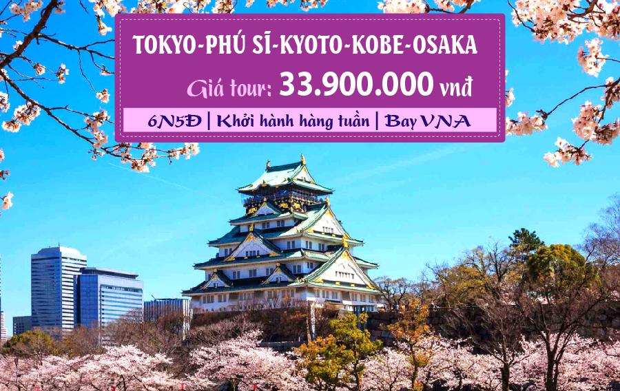NB20. (6N5Đ) Tokyo | Phú Sĩ | Kyoto | Kobe | Osaka