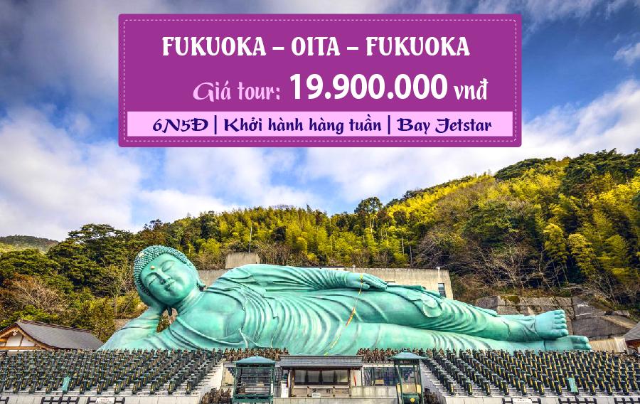 NB22. (6N5Đ) Fukuoka | Oita | Fukuoka
