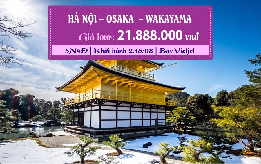 NB23. (5N4Đ) Osaka | Wakayama | Hà Nội