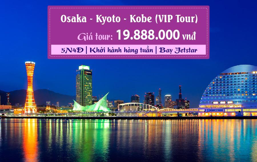 NB24. (5N4Đ) Osaka | Kyoto | Kobe (VIP Tour)