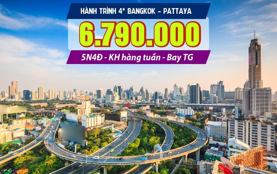 TL13. (5N4Đ) Bangkok | Pattaya | Safari world | Buffet 86 tầng