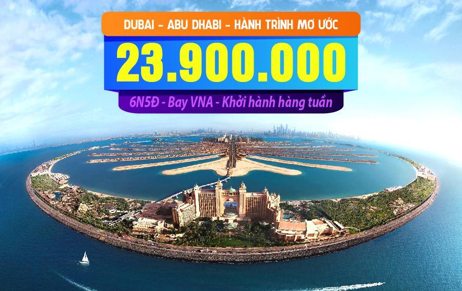TK17. (6N5Đ) Dubai | Abu Dhabi | Hành trình mơ ước