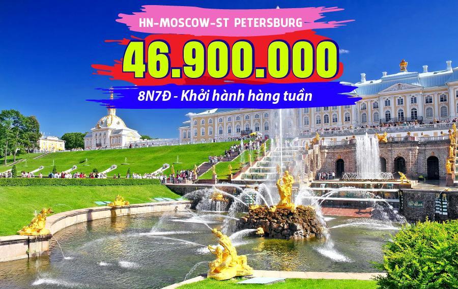 TK20. (8N7Đ) Hà Nội | Moscow | St Petersburg