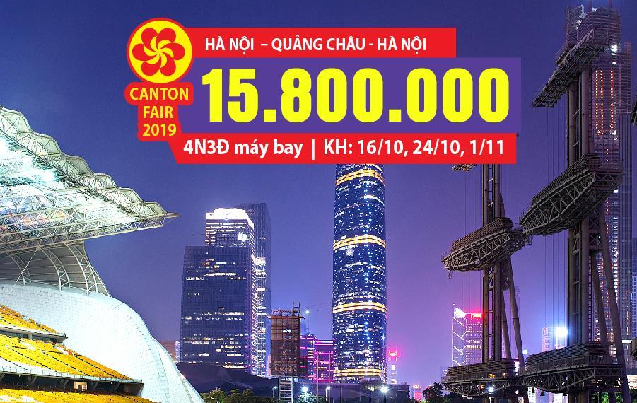 HC01. (4N3Đ) Hà Nội | Quảng Châu | Hà Nội