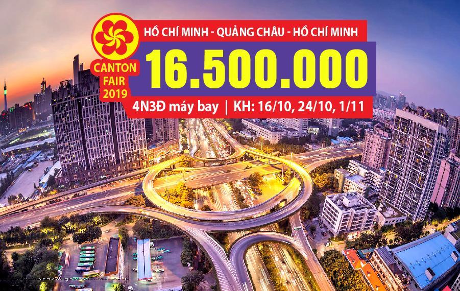 HC02. (4N3Đ) Hồ Chí Minh | Quảng Châu | Hồ Chí Minh