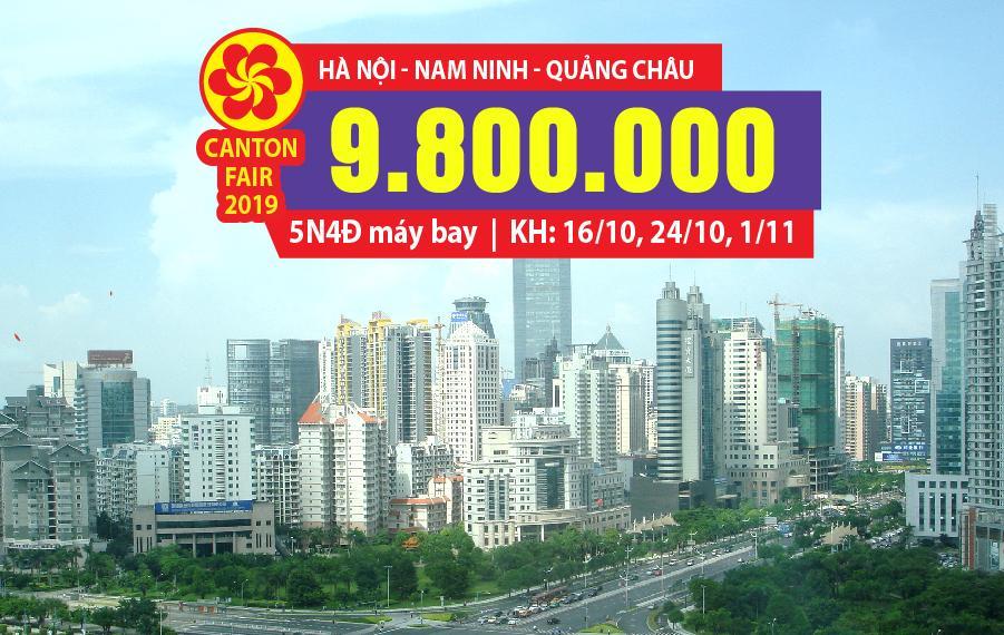 HC03. (5N4Đ) Hà Nội | Nam Ninh | Quảng Châu | Nam Ninh