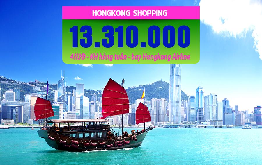 HK01. (4N3Đ) Hongkong shopping