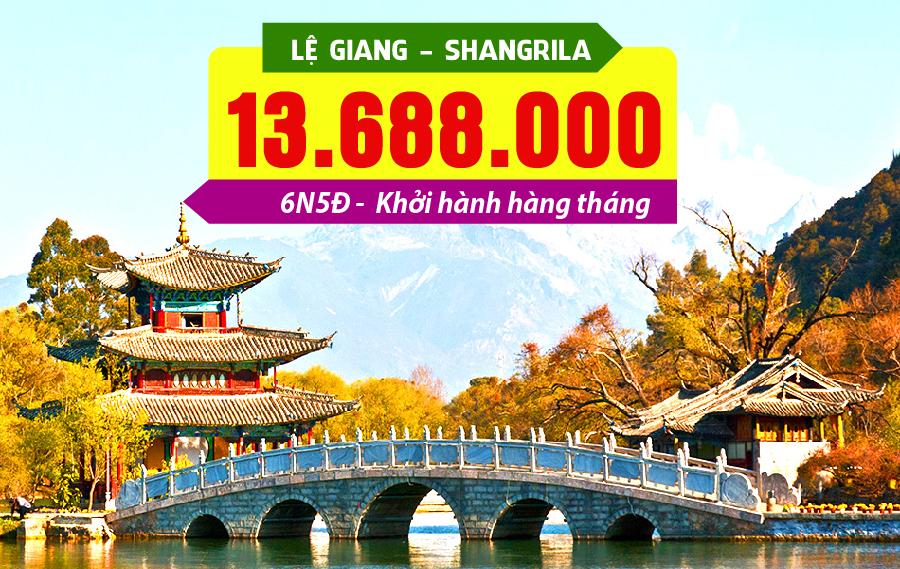 TQ12. (6N5Đ) Lệ Giang | Shangrila