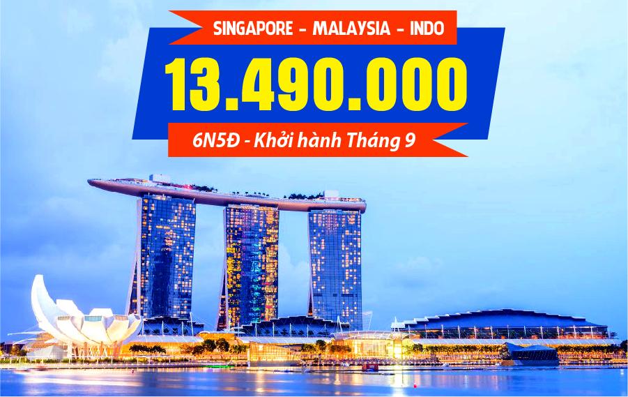 MS02. (6N5Đ) Hà Nội | Singapore | Indonesia | Malaysia