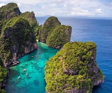 TL05. (4N3Đ) Thiên đường Phuket | đảo Phi Phi | vịnh Phang Nga | chùa Kathu