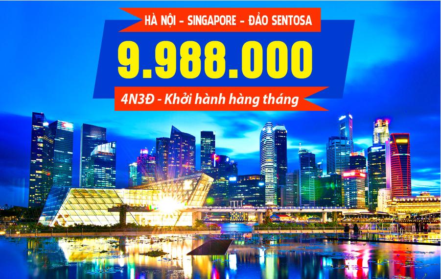 MS07. (4N3Đ) Hà Nội | Singapore | Đảo Sentosa